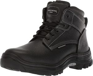 5. Skechers Mens Tarlac Steel Toe Work Boot