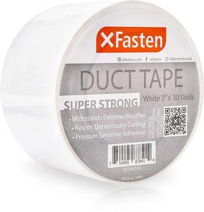5. XFasten Super Strong Duct Tape, White