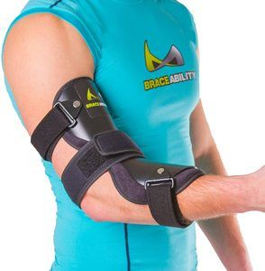 6. BraceAbility Cubital Tunnel Syndrome Elbow