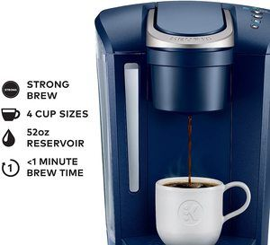 6. Keurig K-Select Coffee Maker, Matte Navy