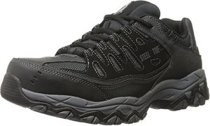 7. Skechers for Work 77055 Cankton Athletic Steel Toe