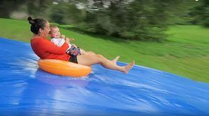 7. Wahii Waterslide 50' x 12' - World's Biggest Backyard Lawn Water Slide