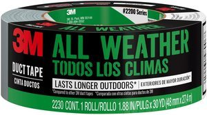 8. 3M All Weather Duct Tape, 1.88 inches x 30 yards