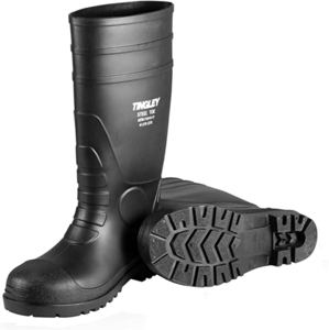 8. TINGLEY Men's PVC Steel Toe 1 Knee Boot