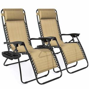 1. Best Choice Products Adjustable Zero Gravity Lounge Chair