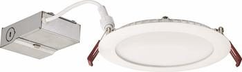 1. Lithonia Lighting WF6 Ultra-Thin Dimmable LED Downlights