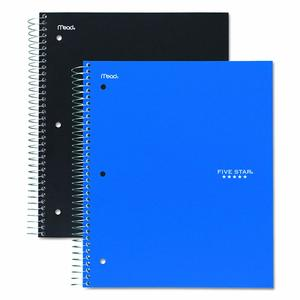 1. Mead Five Star 3-Subject Notebook