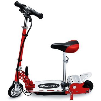 1. Overwhelming Folding Electric Scooter With Seat