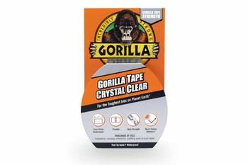 10. Gorilla 1.88'' by 9 yards Crystal Clear Waterproof Tape