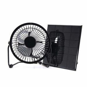 10. NUZAMAS 3W 6V Solar Panel Powered USB Mini Fan - Solar Powered Fans