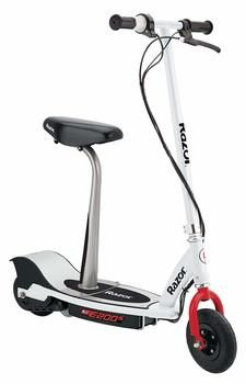 10. Razor E200S Electric Scooter with Seat