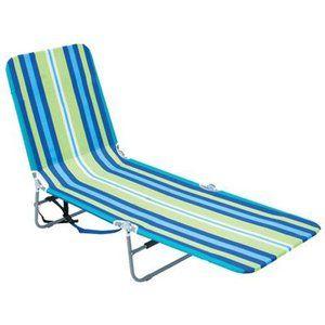 10. Rio Beach Folding Backpack Beach Lounge Chair