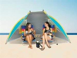 11. Portable Sun Shelter Beach Tent Cabana