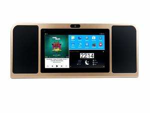 12. Azpen A770 Boombox with Tablet with Dual 5 Watts Bluetooth Speakers