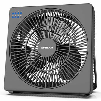 12. OPOLAR 8 Inch Desk Fan with Timer