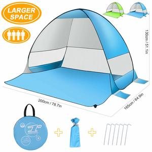 13. SLB Pop Up Beach Tent, Sun Shelter Shade Easy-Up Portable