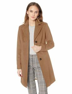 14. Women's classic cashmere wool-blend coat