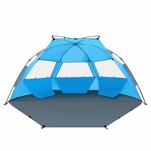 15. TAGVO Pop Up Beach Tent Sun Shelter Easy Set Up Tear Down