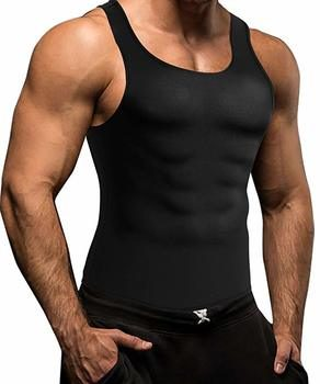 2. Men Waist Trainer Corset Vest for Weight Loss