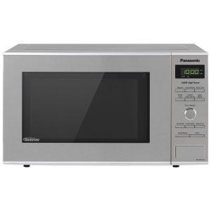 #2. PanasonicMicrowave Oven Stainless Steel Countertop