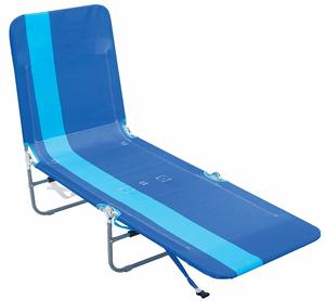 2. Rio Beach Portable Lounge Chair with Backpack Straps and Storage Pouch