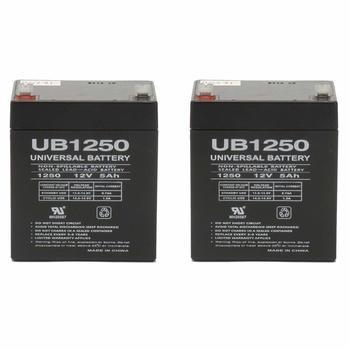2. Set of 2 Razor E175 12 Volt 5AmpH SLA Replacement Scooter Batteries