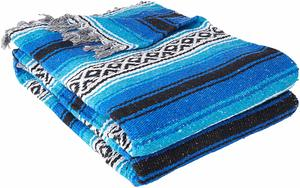 2. YogaDirect Deluxe Mexican Yoga Blanket