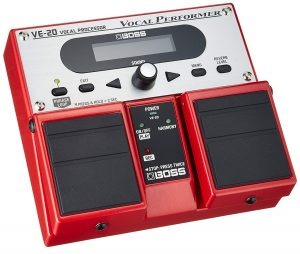 Boss VE-20 Vocal Processor Performer Multi-Effects Pedal