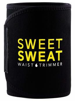 3. Sports Research Sweet Sweat Premium Waist Trimmer (Yellow Logo) for Men & Women
