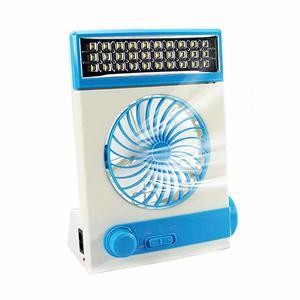 4. Ansee Multi-Function Solar Fan - Solar Powered Fans