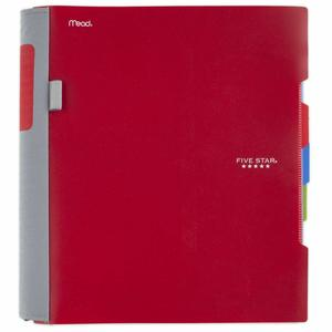 4. Five Star 2 Pocket Folders with Prong Fasteners