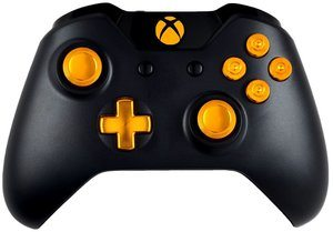 4. Gold 9MM Xbox One Modded Controller