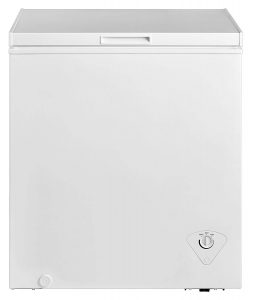 #4. Midea WHS-185C1 Single Door Chest Freezer