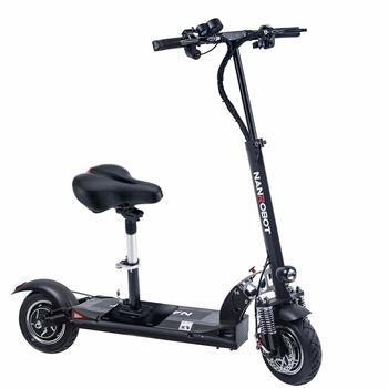 4. NANROBOT D5+ Foldable Speed Electric Scooter With Seats