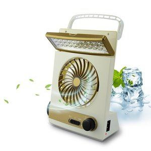 5. BicycleStore 3 in 1 Multi-function Mini Fan - Solar Powered Fans