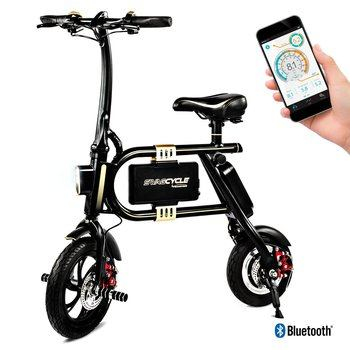 5. Swagtron SwagCycle Classic Electric Bike with Collapsible Frame