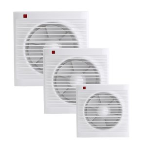 5. Waterproof Mute Bathroom Extractor Exhaust Fan Window