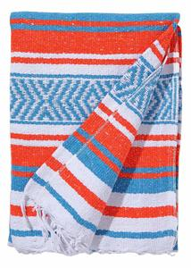 6. El Paso Designs Mexican Colorful Yoga Blanket