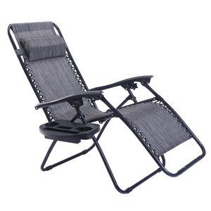 6. Goplus Folding Zero Gravity Reclining Lounge Chairs