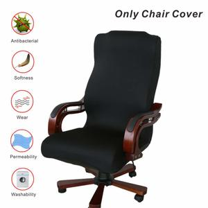 6. Office Chair Covers, My Decor Removable Cover Stretch Cushion Resilient Fabric