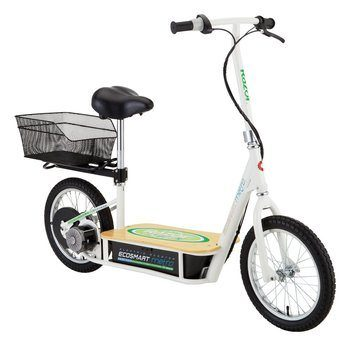 6. Razor Electric Scooter With Seat - EcoSmart Metro E-Scooter