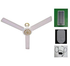 6. Solar Ceiling Fan 24h Runs by MANANASUN - Solar Powered Fans