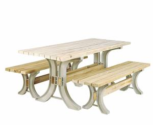 7. 2x4basics 90182ONLMI Custom Picnic Table Kit