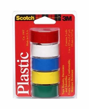 7. Scotch Brand Super Thin Vinyl Plastic Waterproof Tape