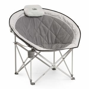 8. CORE 40025 Equipment Folding Moon Round Saucer Chair