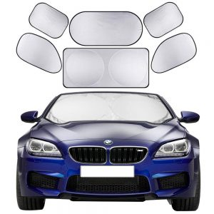 #8. Cosyzone Windshield Sunshade Car Sun Shade