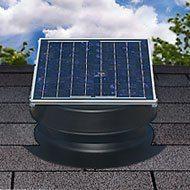 8. Solar Attic Fan 36-watt