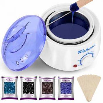 8. Wokaar Wax Warmer Hair Removal Waxing Kit