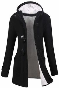 8. Women's Winter Outdoor Warm Wool Blended Classic Pea Coat Jacket