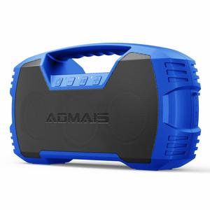 9. AOMAIS GO, Bluetooth Speakers, Waterproof Portable Indoor&Outdoor 30W